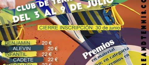 III Circuito MORE & TENNIS